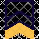 Badge Double Stripe Icon
