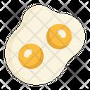 Egg Eggs Double Icon