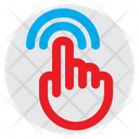 Double Tap Finger Hand Icon