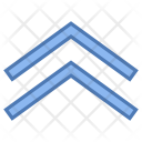 Double up arrow Icon