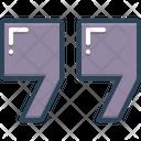 Doublequote Example Instance Icon