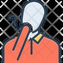 Doubt Hesitancy Suspicious Icon