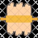 Dough Rolling Pin Icon