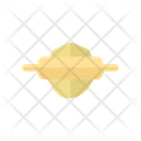 Dough Roller Bread Roller Rolling Pin Icon