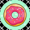 Doughnut Sugar Food Icon
