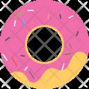 Donut Doughnut Confectionery Icon