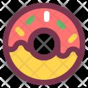Breakfast Dessert Doughnut Icon