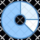 Doughnut Chart Graph Icon