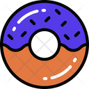 Doughnut Dessert Treats Icon