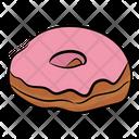 Donut Doughnut Strawberry Donut Icon