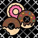 Doughnut Desert Donut Icon