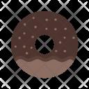 Doughnut Sprinkled Sweet Icon