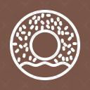 Doughnut Sweet Bakery Icon