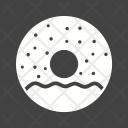 Doughnut Sprinkled Bakery Icon