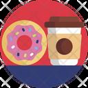 Food Doughnut Beverage Icon