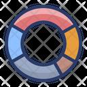 Doughnut Chart Circle Chart Modern Chart Icon