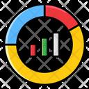Doughnut Chart Analytics Business Chart Icon