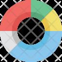 Doughnut Chart Pie Icon