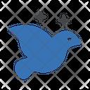 Dove Magic Bird Icon