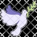 Dove Peace Bird Icon