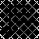Down Arrow Filter Icon