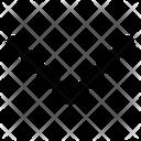 Arrow Down Move Icon