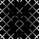 Down Arrow Business Icon