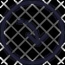 Navigation Direction Move Icon