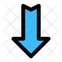 Down Arrow Arrows Icon