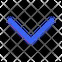 Down Arrow Navigation Icon