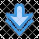 Down Arrow Arrows Icon