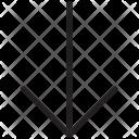 Down Arrow Downloading Icon
