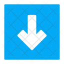 Down Bottom Download Icon