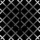 Down Arrow Arrow Icon