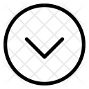 Down Button Arrow Icon
