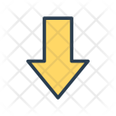 Down Arrow Pointer Icon