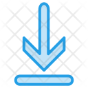 Down Direction Top Icon