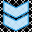 Down Arrow Speed Icon