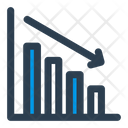 Down Analytics Icon