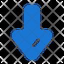Down Arrow South Icon