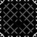 Arrow Down Web Icon