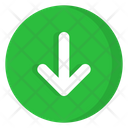 Arrow Down Download Icon