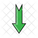 Down Down Arrow Arrow Icon