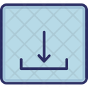Arrow Down Download Save Icon