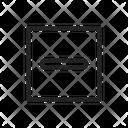 Hide Delete Minus Icon