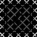 Down Arrow Decrease Icon