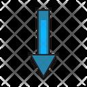 Down Drop Arrow Icon