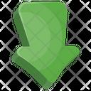 Arrow Down Game Icon