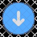 Circle Arrow Download Icon