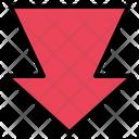 Arrow Down Arrow Load Icon